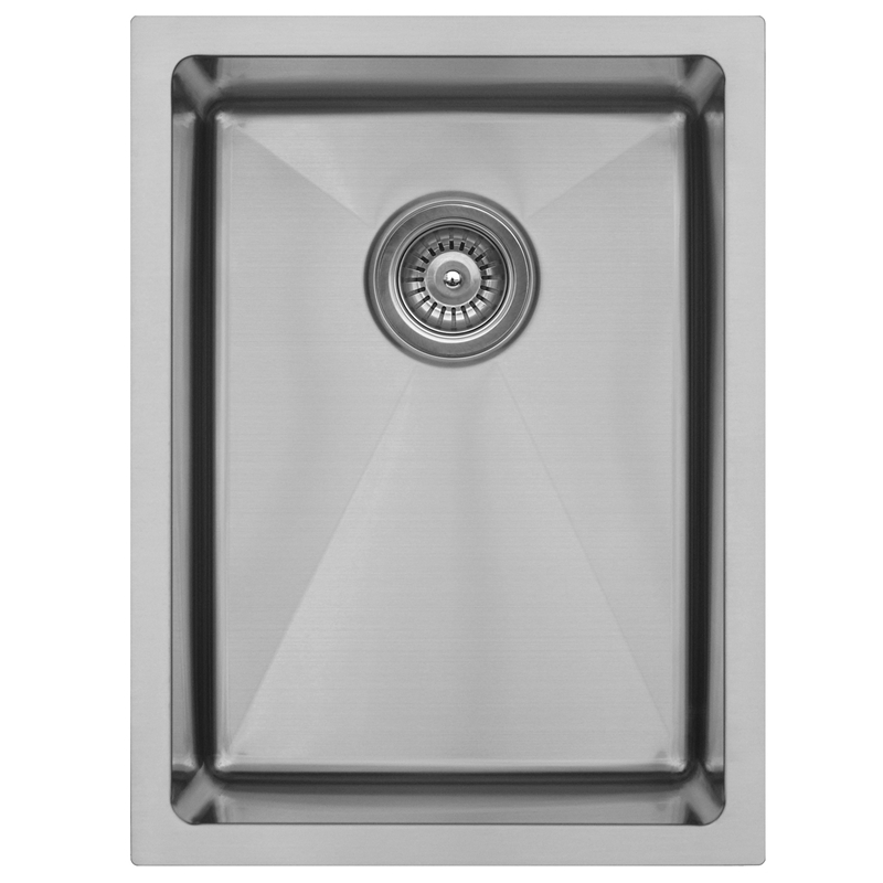 "Karran EL-71, 15"" x 20"" 16 Gauge Undermount Single Bowl Bar/Prep Sink, Stainless Steel :: Image 10"