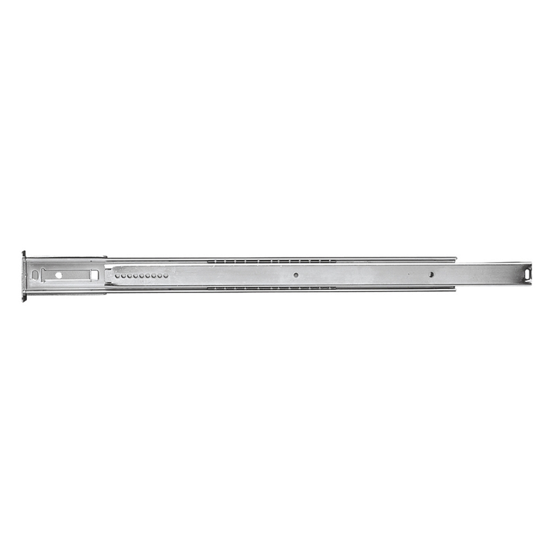 "22"" Center Mount 35 lb Ball Bearing Slide, 3/4 Extension, Cadmium, Belwith P1029/22-2C :: Image 10"