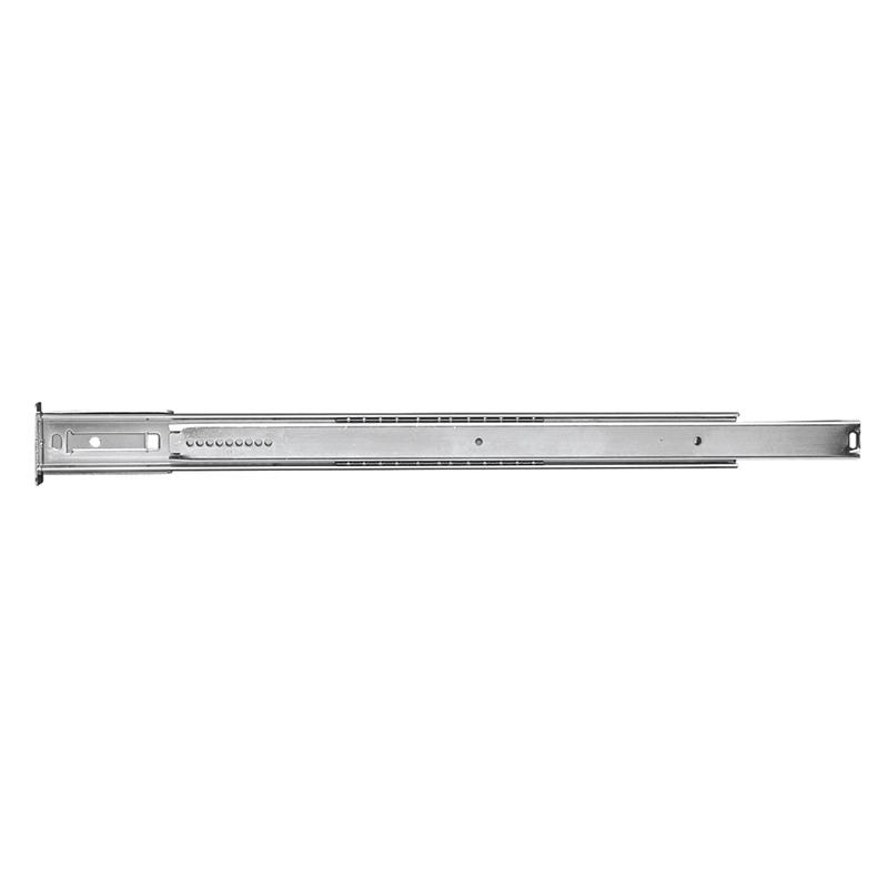"24"" Bottom Mount 100 lb Ball Bearing Slide, 3/4 Extension, Cadmium, Belwith P1029/24-2C :: Image 10"