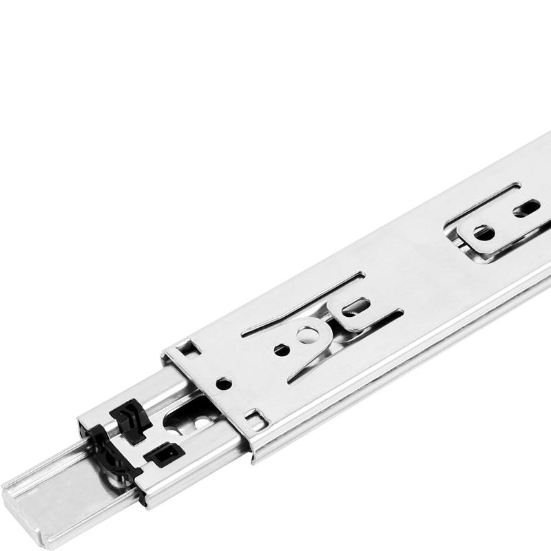"""24"""" Side Mount 100 lb Drawer Slide, Full Extension, Zinc, , WE Preferred 0684075166961 10 :: Image 10"""
