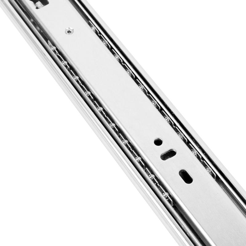 """24"""" Side Mount 100 lb Drawer Slide, Full Extension, Zinc, , WE Preferred 0684075166961 10 :: Image 40"""