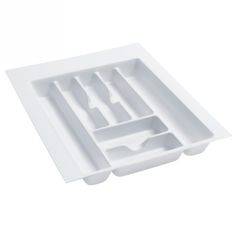"17-1/2"" Cutlery Drawer Insert, Plastic, Glossy White, Rev-a-shelf  GCT-3W-20 :: Image 10"