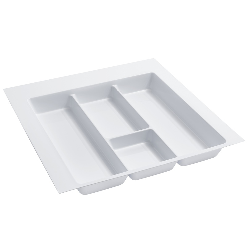 """21-7/8"""" Utensil Drawer Insert, Plastic, Glossy White, Rev-a-shelf  GUT-18W-10 :: Image 10"""