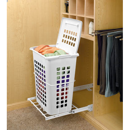 Rev-A-Shelf HPRV-1925 S - Pullout Hamper w/ Lid System, Inside Mount :: Image 30