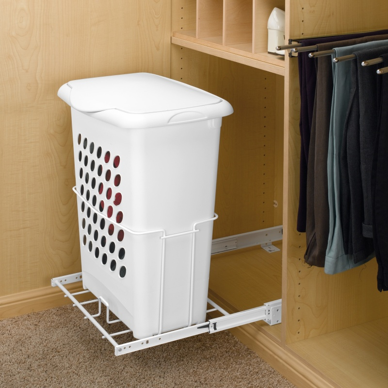 Rev-A-Shelf HPRV-1925 S - Pullout Hamper w/ Lid System, Inside Mount :: Image 40