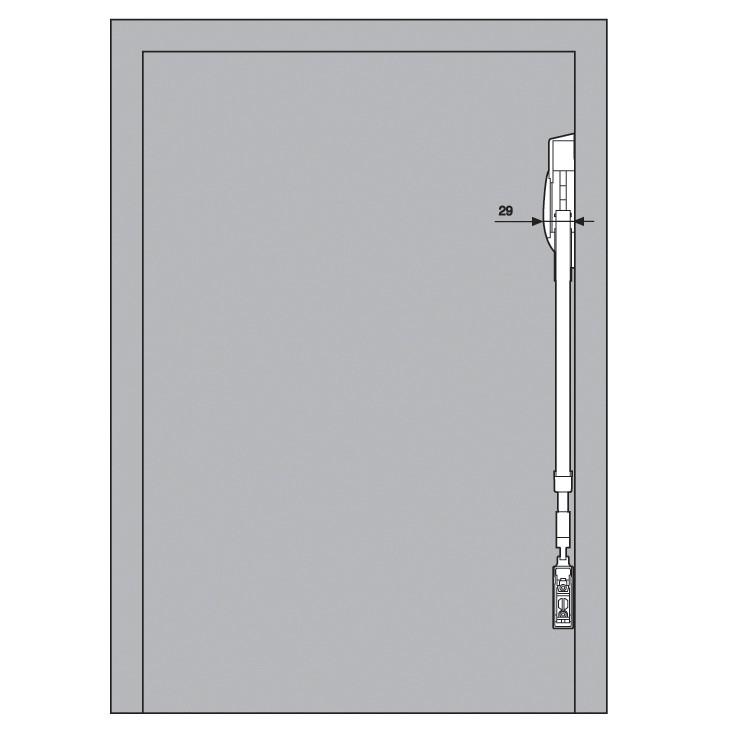 Blum 20F2500.N5 Aventos HF Bi-Fold Lift Mechanism, Power Factor 471 - 880 :: Image 60