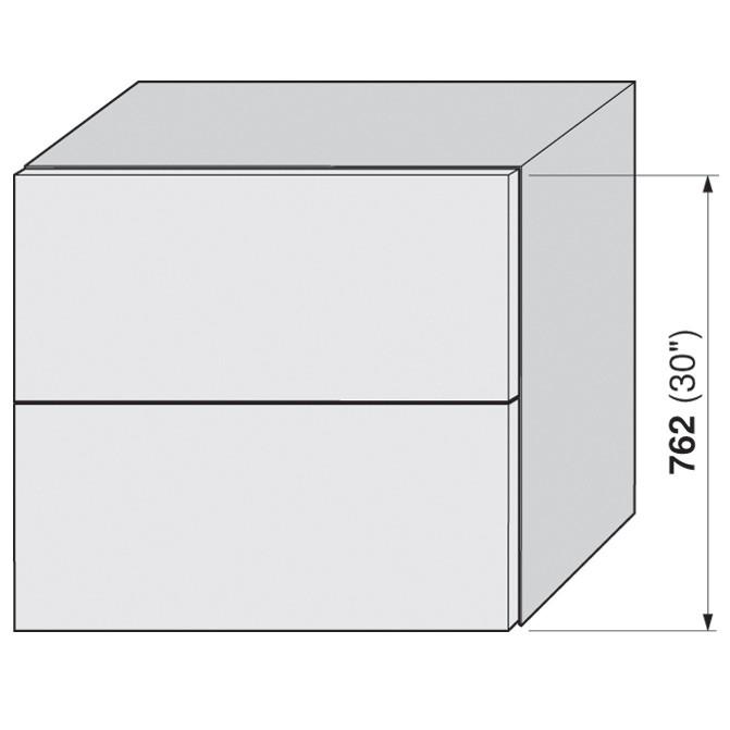 Blum 20F2200.N5 Aventos HF Bi-Fold Lift Mechanism, Power Factor 85 -230 :: Image 80