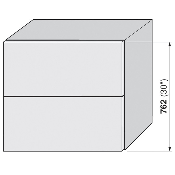 Blum 20F2200.N5 Aventos HF Bi-Fold Lift Mechanism, Power Factor 85 -230 :: Image 10