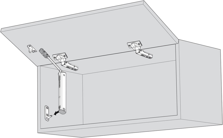 Blum 20K1101 AVENTOS HK-XS Lift Mechanism :: Image 80