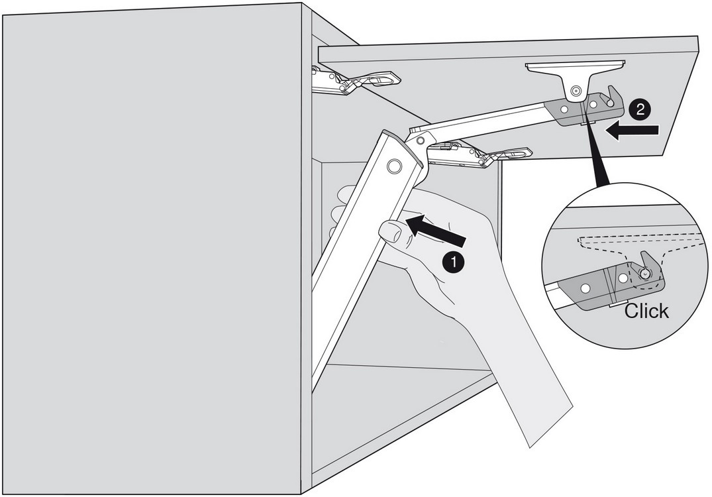 Blum 20K1101 AVENTOS HK-XS Lift Mechanism :: Image 90