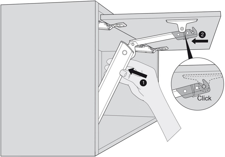 Blum 20K1301T Medium Duty TIP-ON for AVENTOS HK-XS :: Image 50