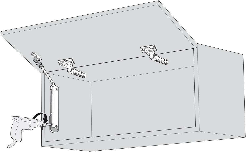 Blum 20K1101T Light Duty TIP-ON for AVENTOS HK-XS :: Image 100