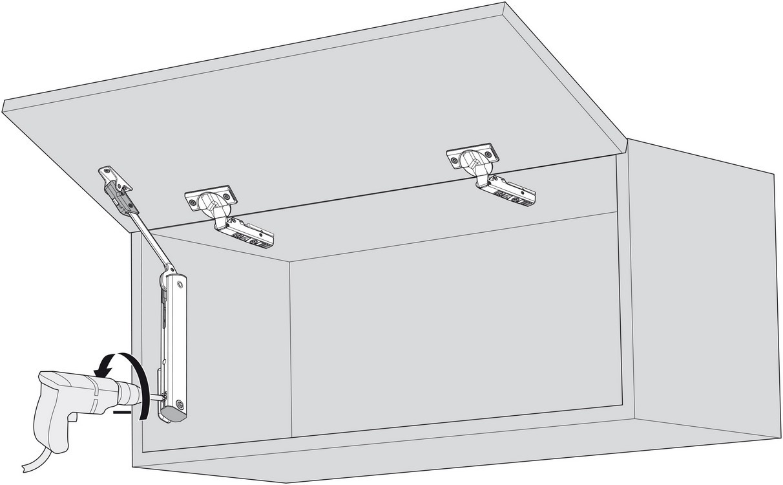Blum 20K1301T Medium Duty TIP-ON for AVENTOS HK-XS :: Image 70