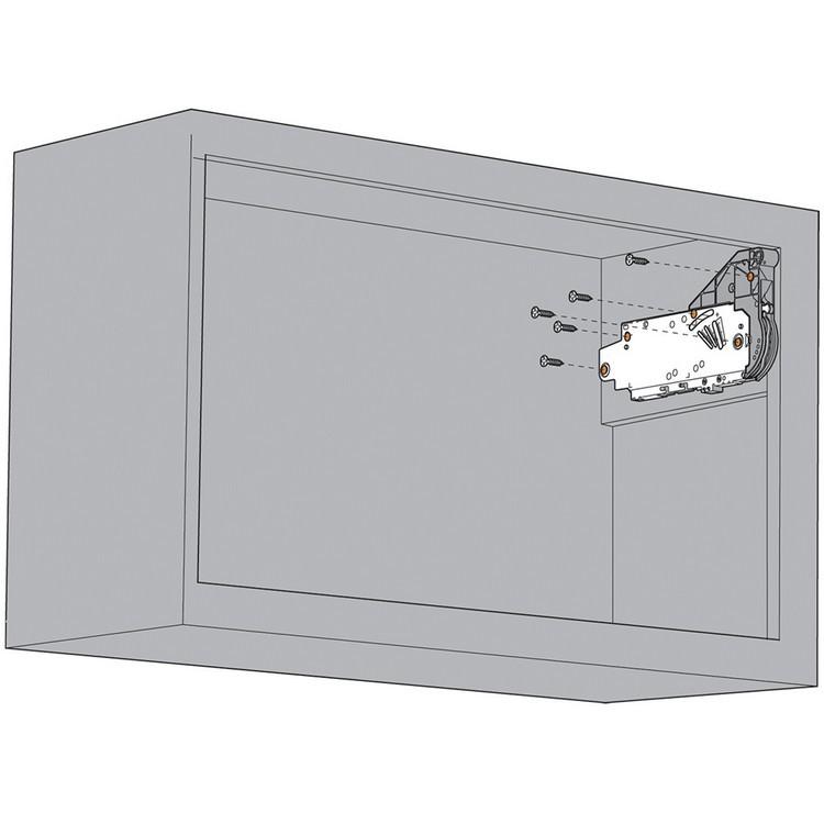Blum 20L2700.N5 Aventos HL Lift Mechanism for Door Weight 10lbs 7oz. to 19lbs 3oz :: Image 100