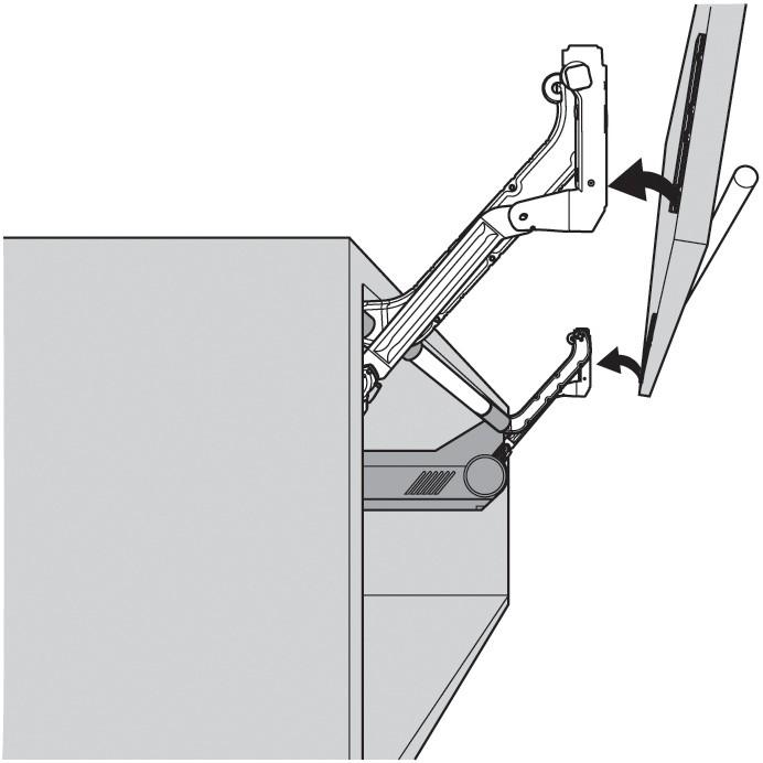 Blum 20L350006 AVENTOS HL Arm Assembly Set, Lift-Up Door System :: Image 20