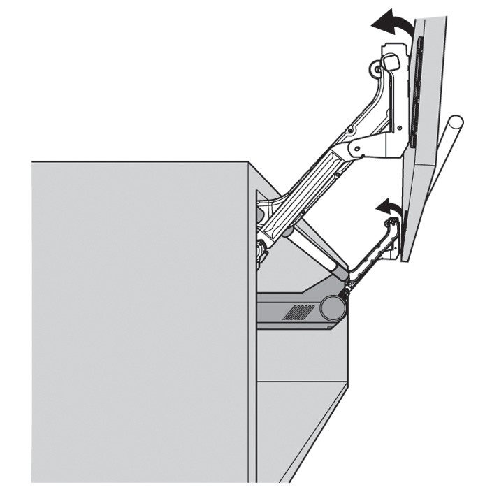 Blum 20L380006 AVENTOS HL Arm Assembly Set, Lift-Up Door System :: Image 30