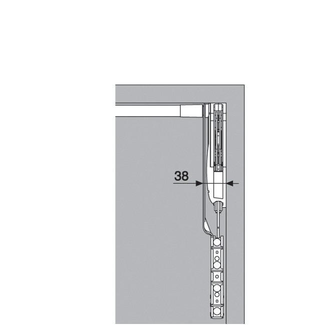 Blum 20S2H00.N5 Aventos HS Lift Mechanism :: Image 50