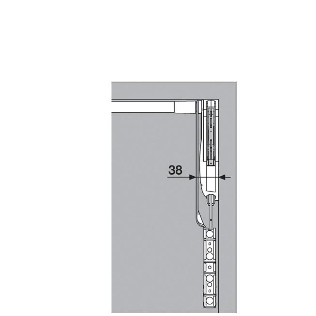 Blum 20S2E00.N5 Aventos HS Lift Mechanism :: Image 110