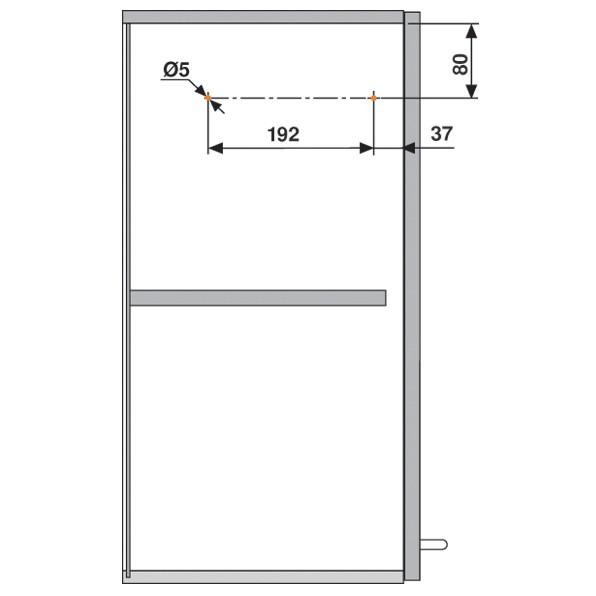 Blum 20S2D00.N5 Aventos HS Lift Mechanism :: Image 70