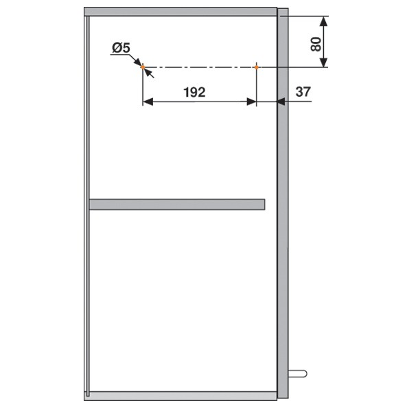Blum 20S2E00.N5 Aventos HS Lift Mechanism :: Image 70