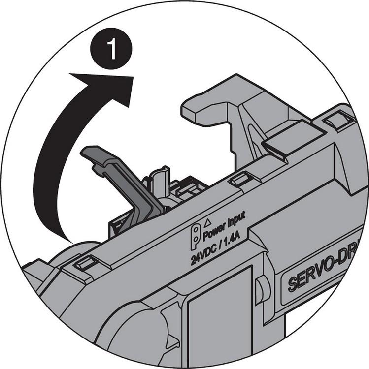 Blum Z10K800AE SERVO-DRIVE Universal Cable Set, 26 Feet :: Image 110