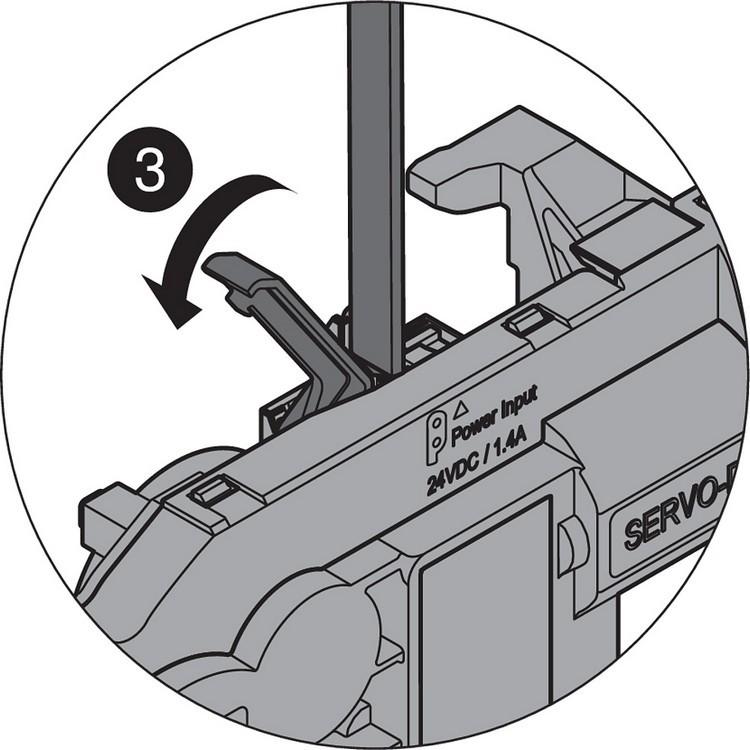 Blum Z10K800AE SERVO-DRIVE Universal Cable Set, 26 Feet :: Image 40