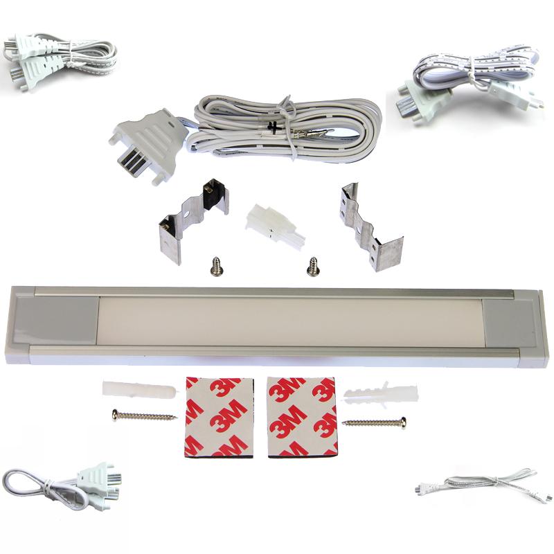"LED Linear Lighting Kit for 48"" Cabinet - Eurolinx, 15W, Warm Light, 3000K :: Image 10"