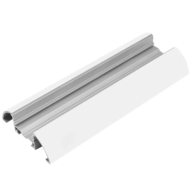 "Tresco 72"" Infinex Curved Extrusion, White, L-XCRV72-WH-1 :: Image 10"