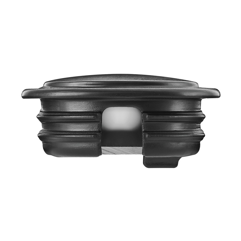 Tresco Infinex Recessed End Cap Set, Black, L-XRECECP-BL-10 :: Image 10