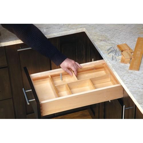 "15-3/8"" Cutlery Drawer Insert, Wood, Wood, Rev-a-shelf  LD-4CT21-1 :: Image 30"