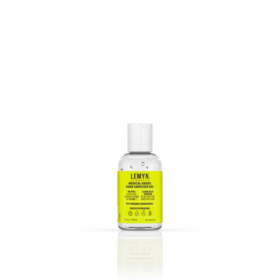 Medical Grade Hand Sanitizer Gel 2oz Bottle Lemyn Organics LLC USHS-0059-AA