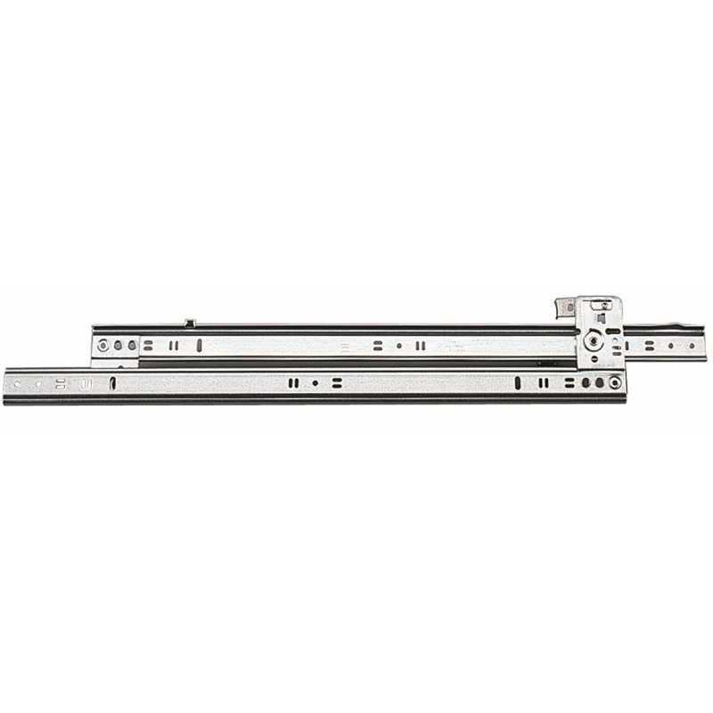 """22"""" Side Mount 60 lb Roller Bearing Slide, 3/4 Extension, Brown, Knape and Vogt 1260B BRN 22 :: Image 10"""