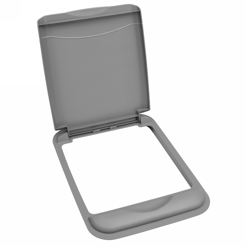 Rev-A-Shelf RV-50-LID-17-1 50 Qt. Lid Only, Silver :: Image 10