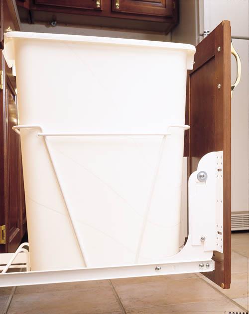 Rev-A-Shelf RV DM KIT, White Heavy Duty Door Mount Kit for Trash Containers, 5CW, HURV, HPRV Series :: Image 30