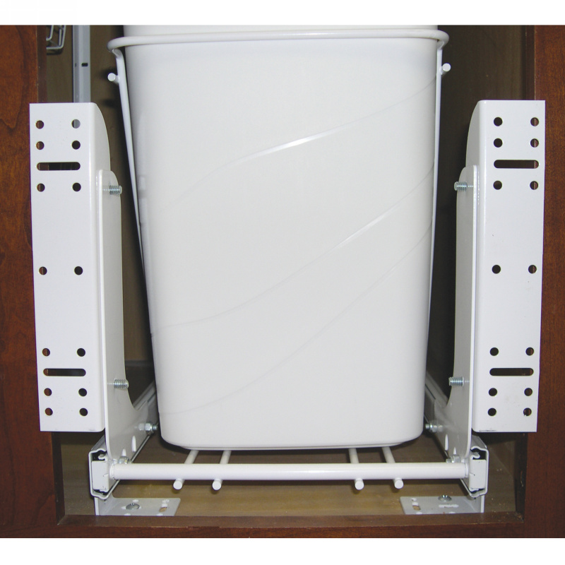 Rev-A-Shelf RV DM KIT, White Heavy Duty Door Mount Kit for Trash Containers, 5CW, HURV, HPRV Series :: Image 20