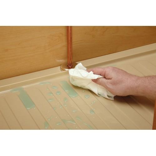 Rev-A-Shelf SBVDT-2730-S-1 - Vanity 28-1/2 Polymer Vanity Sink Base Drip Tray, Silver :: Image 20