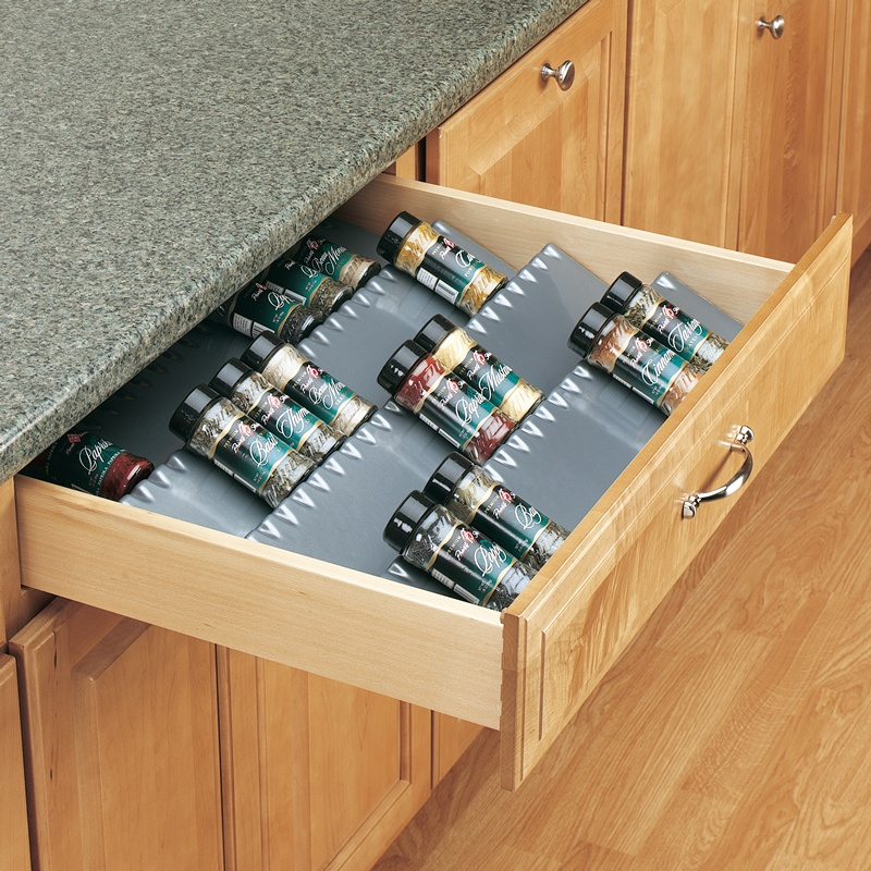 "Rev-A-Shelf ST50-21S-52, 50"" Spice Drawer Insert, Polymer, Silver :: Image 10"