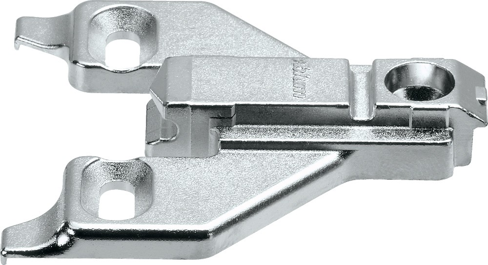 Blum 175L6630.22 3mm Face Frame Adapter Plate, Adj Height, Off Center Mount, Screw-on :: Image 30