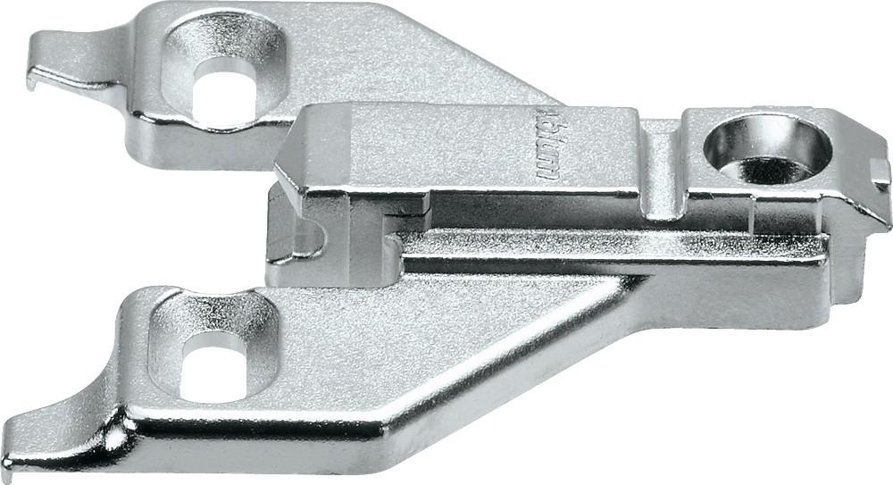 Blum 175L6660.22 6mm Face Frame Adapter Plate, Adj Height, Off Center Mount, Screw-on :: Image 10