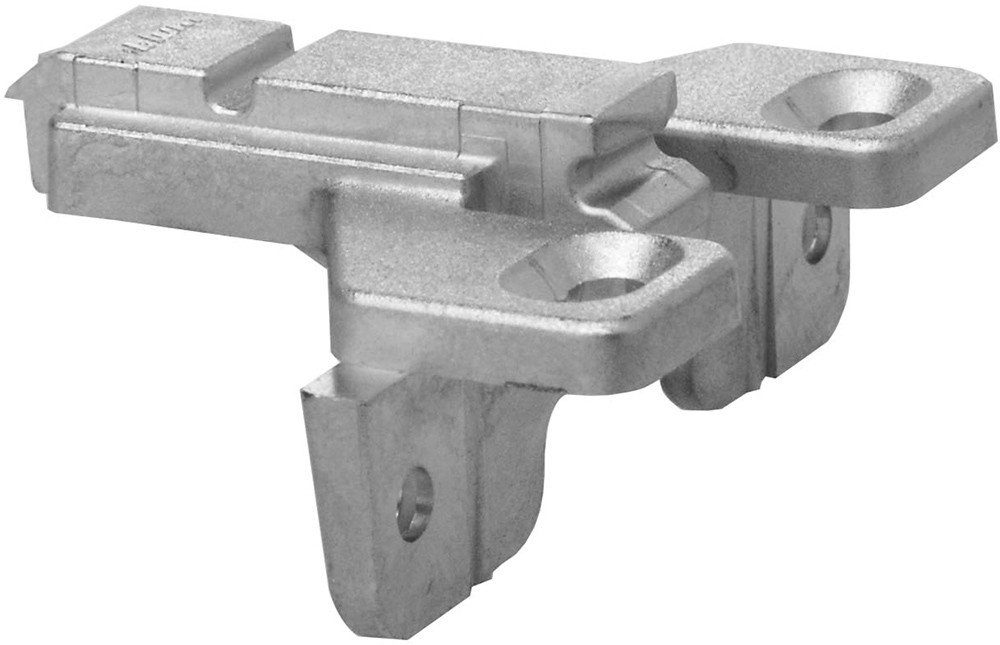 Blum 175L6600.24 0mm Face Frame Adapter Plate with Flange, Adj Height, Screw-on :: Image 40