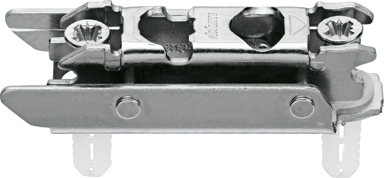 Blum 177H3130E CLIP Series Frameless Cam Adjustable 3mm Inline Mounting Plate, EXPANDO Dowels :: Image 10