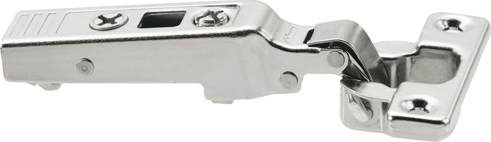 Blum 71T0550 94 Degree CLIP Top Mini Hinge, Self-Close, Full Overlay, Screw-on :: Image 170