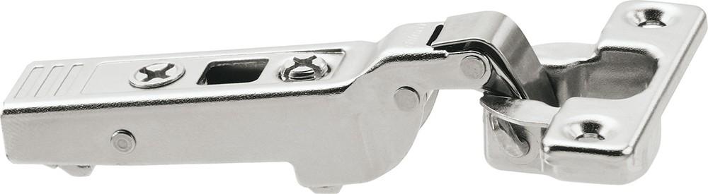Blum 71T0650 94 Degree CLIP Top Mini Hinge, Self-Close, Half Overlay, Screw-on :: Image 170