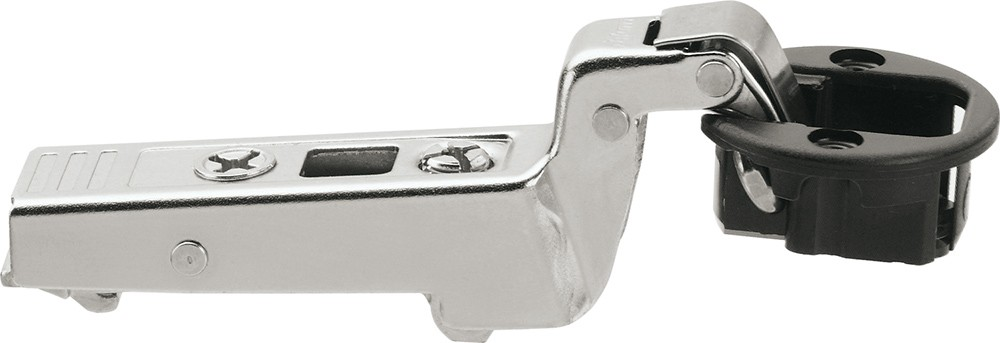 Blum 75T4300 94 Degree CLIP Top Glass Door Hinge, Self-Close, Inset, Screw-on :: Image 140