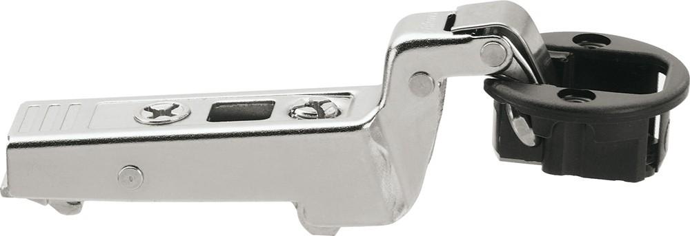 Blum 75T4300 94 Degree CLIP Top Glass Door Hinge, Self-Close, Inset, Screw-on :: Image 10