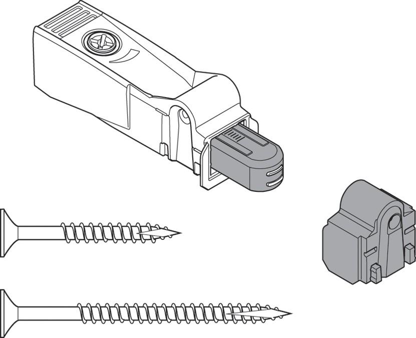 Blum 971A9700.22 971A BLUMOTION Polybag Kit for Doors :: Image 30