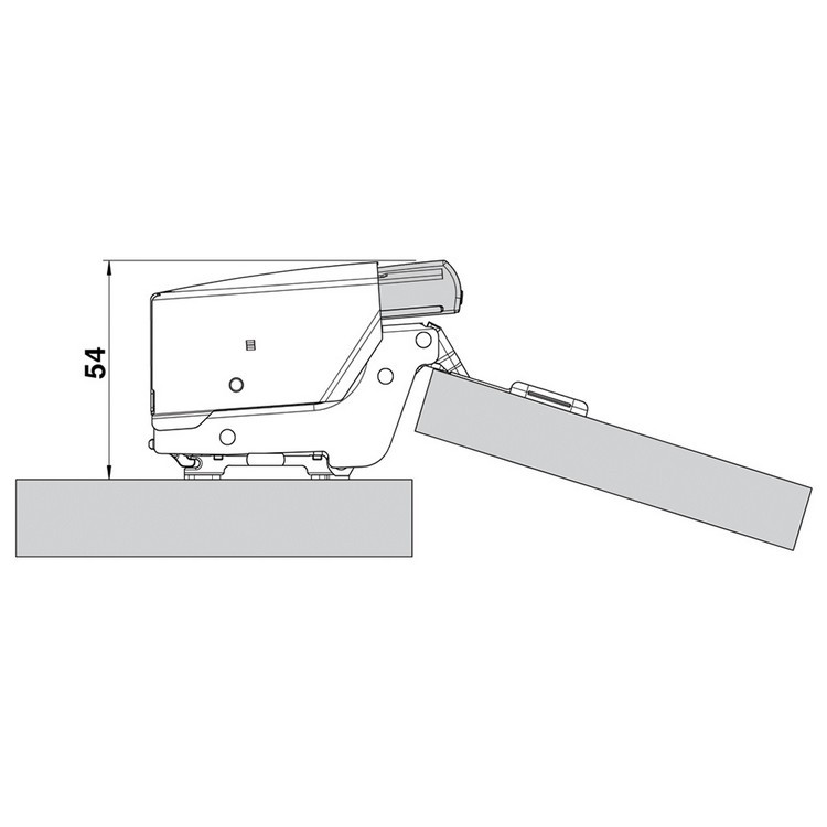 Blum 973A0700 973A BLUMOTION for Doors, Inset Hinges :: Image 50