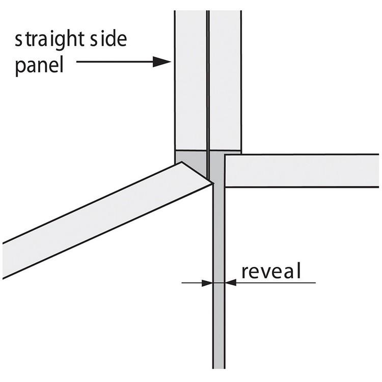 Blum 79T5580 +45 II 110 Degree CLIP Top Hinge, Self-Close, +45 Degree Diagonal, Full Overlay, Dowel :: Image 130