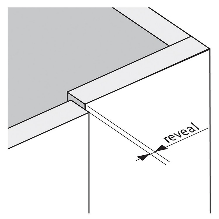 Blum 79T9590B 95 Degree CLIP Top Blind Corner Hinge, Self-Close, Inset, Inserta :: Image 270