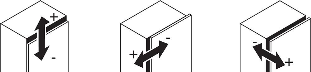 Blum 79T9550 95 Degree CLIP Top Blind Corner Hinge, Self-Close, Inset, Screw-on :: Image 10